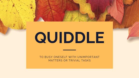 quiddle blog